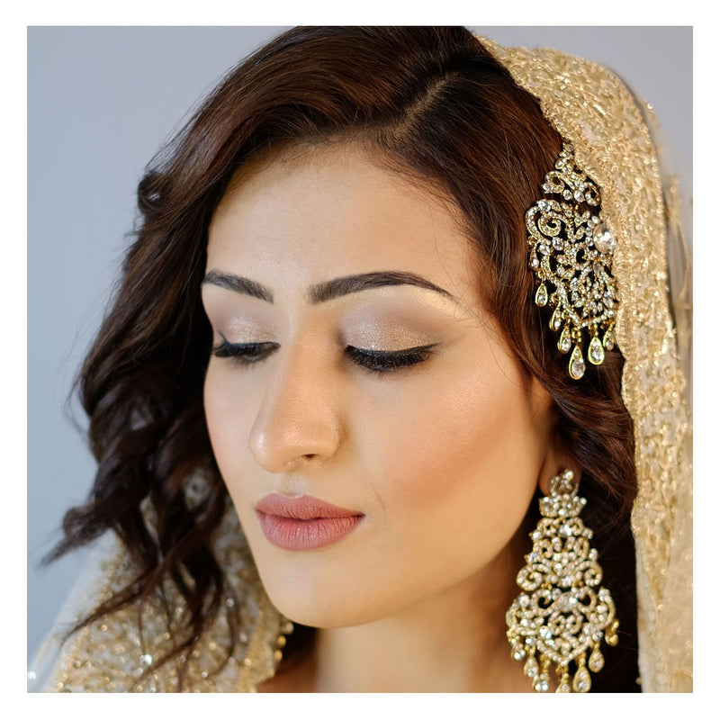 Refined Asian Bridal Makeup and Hair - Saj Neha