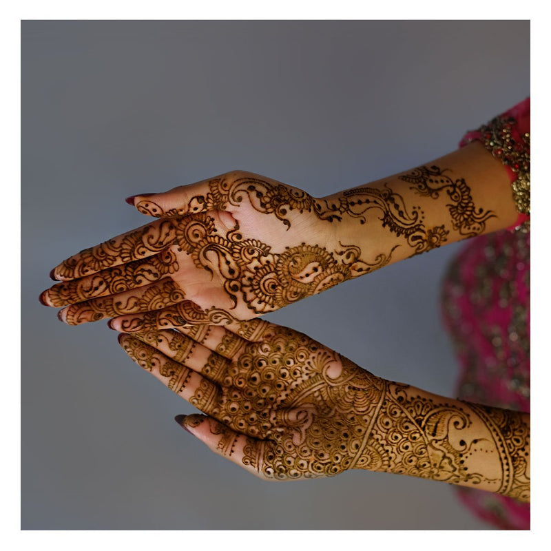 Henna Art/Mehndi Art - Hands To Sleeves - Saj Neha