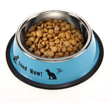 Stainless steel food and water bowl - furry-tale