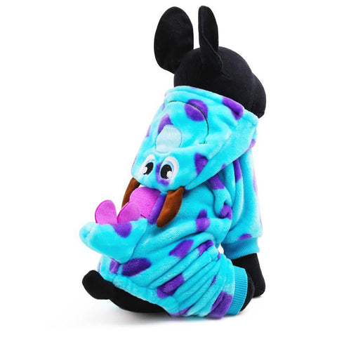 Blue Dragon Dog Coat