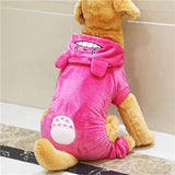 Cozy Cartoon Dog Jumpsuit For Big Dogs