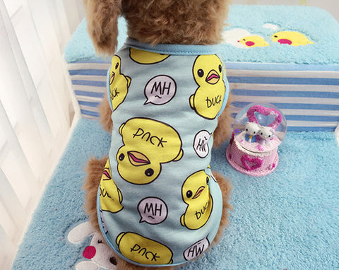 Cute Duck Print Shirt - furry-tale