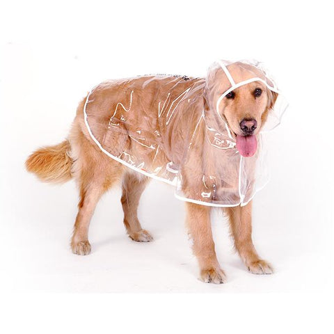 Transparent Raincoat For Big Dogs - Limited Edition - furry-tale