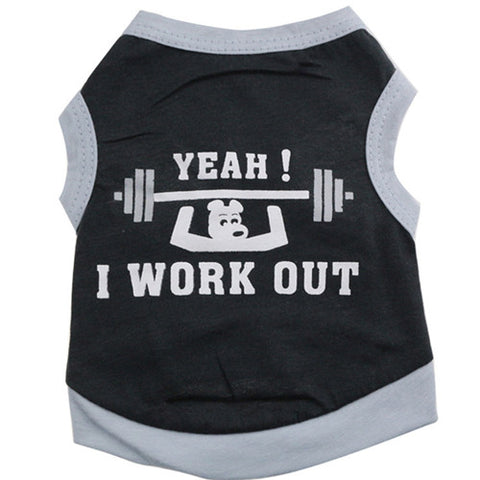 Work Out Vest For Small Dogs