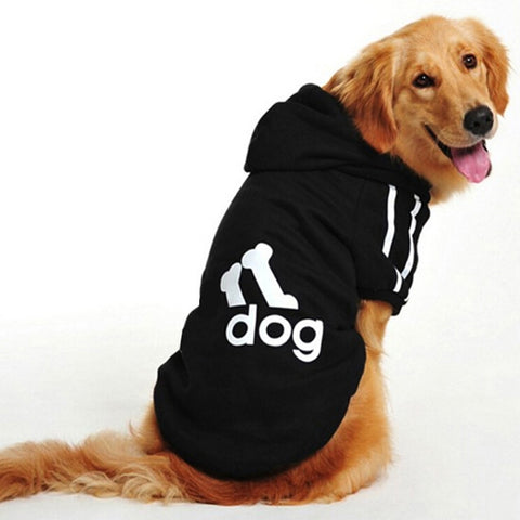 Soft Cotton Adog Coat For Big Dogs