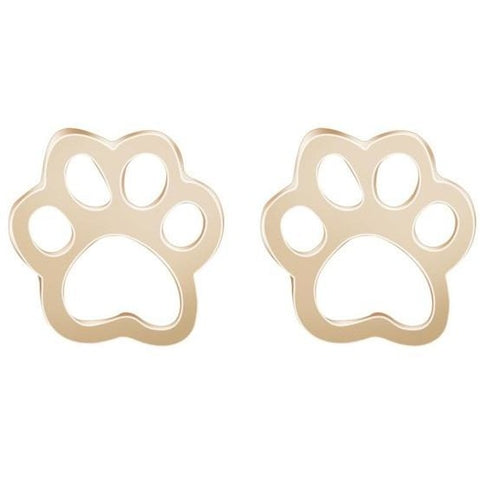 Tiny Cute Dog Paw Earrings - furry-tale