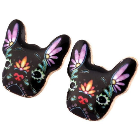 Black Dog Earrings - furry-tale