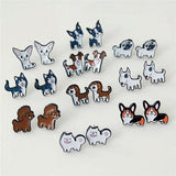 Cartoon Dog Earrings - furry-tale