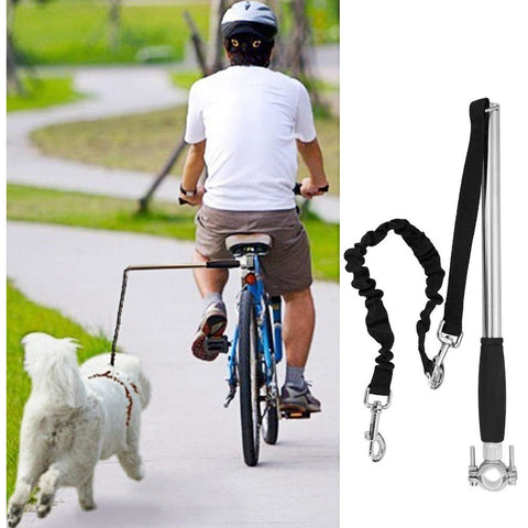 Retractable Hands Free Bike Leash