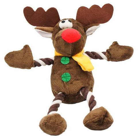 Stuffed And Squeaky Deer Toy - furry-tale