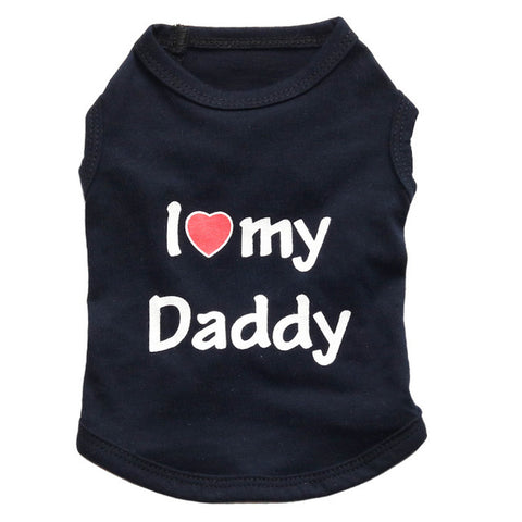 I love Mommy Daddy Shirt