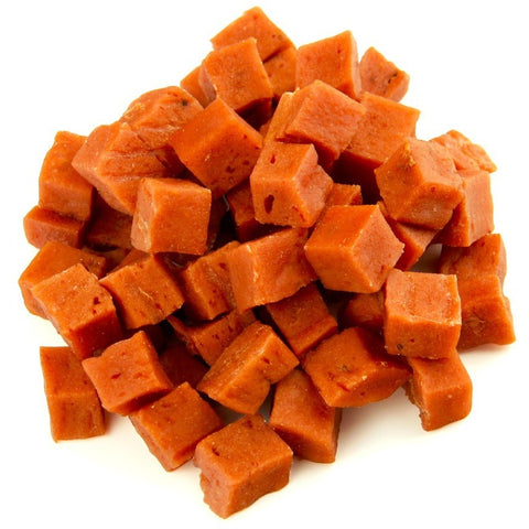 Salmon cubes - furry-tale