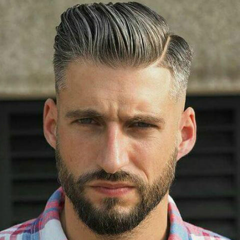 Wondrous Top 5 Hairstyles For Men With Beards Apothecary87 Natural Hairstyles Runnerswayorg