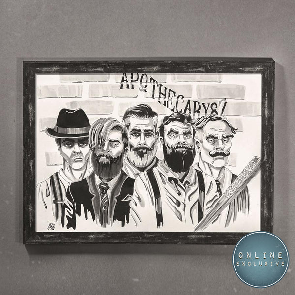 Art Print - The Man Club