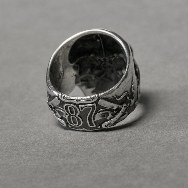 Apothecary 87 X Volstead Skull Ring