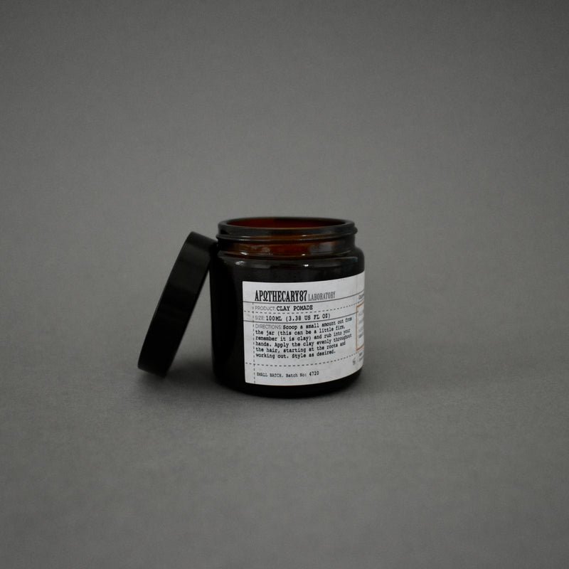 Clay Pomade - Gunpowder Fragrance