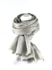 Merino wollen Pashmina Antique White