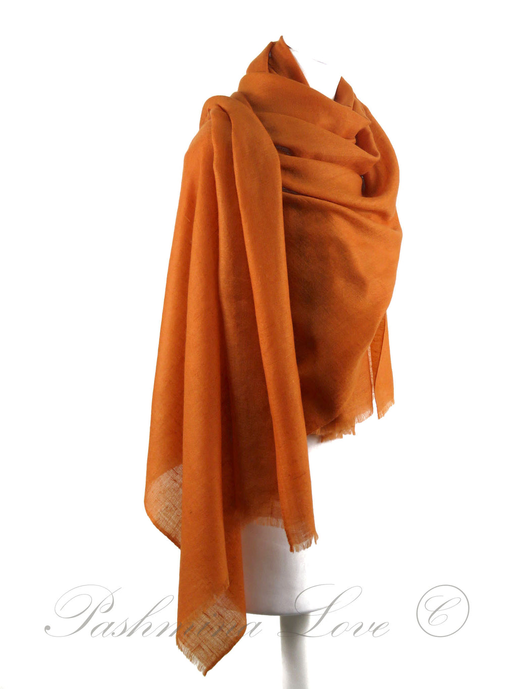 Cashmere Pashmina Orange