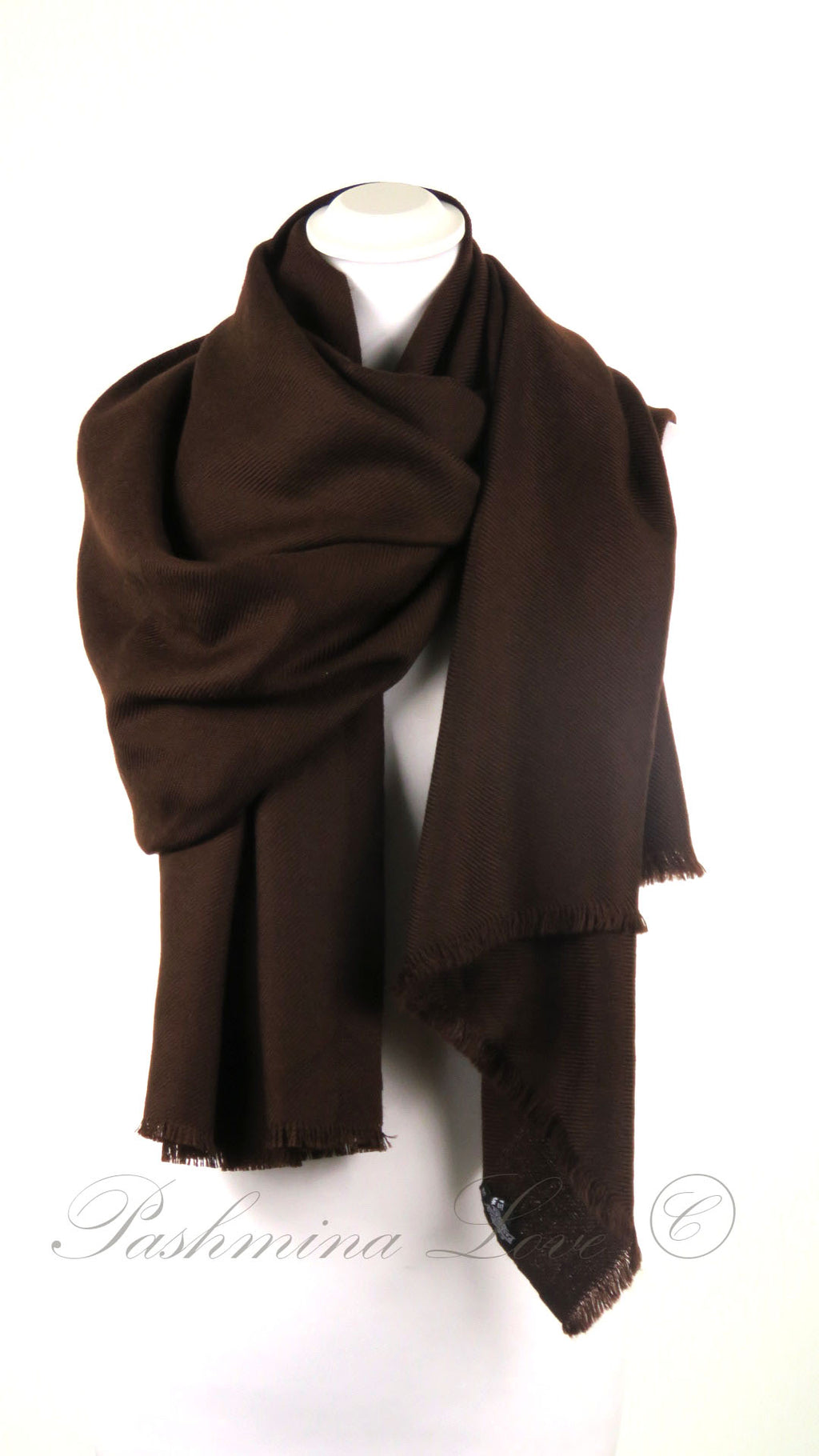 Superior Dubbellaagse Pashmina Rocky Road