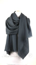 Superior Merino Pashmina Iron Grey