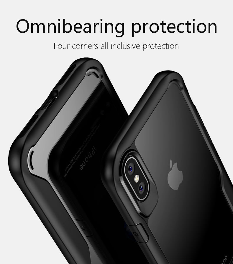 "Premium Eagle Series Anti Shock Hybrid Back Case Cover for Apple iPhone XS Max (6.5"")"