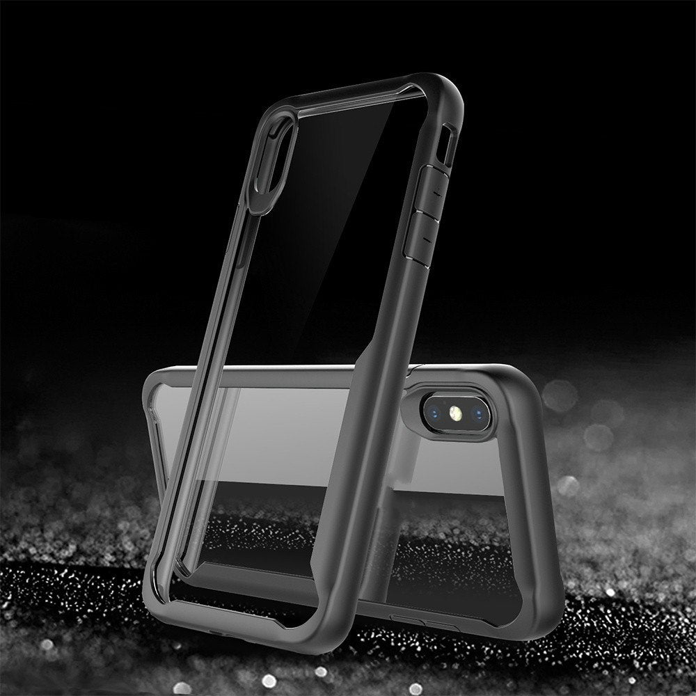 Premium Eagle Series Anti Shock Back Case Cover for Apple iPhone X / XS 2018
