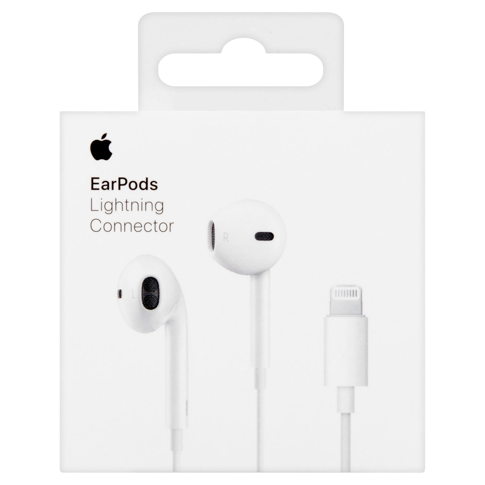 Apple Earpods with Lightning Connector for Apple iPhone X/ XS, 8/8 Plus, 7/7Plus - WHITE
