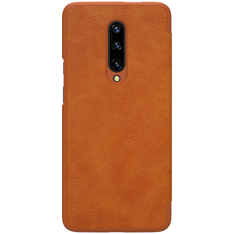 Nillkin Qin Series Vintage Leather Flip Case Wallet Cover for OnePlus 7 Pro