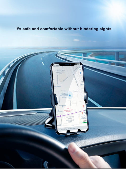 BaseUs Automated Gravity Car Mount Stand Air Vent for Smartphones
