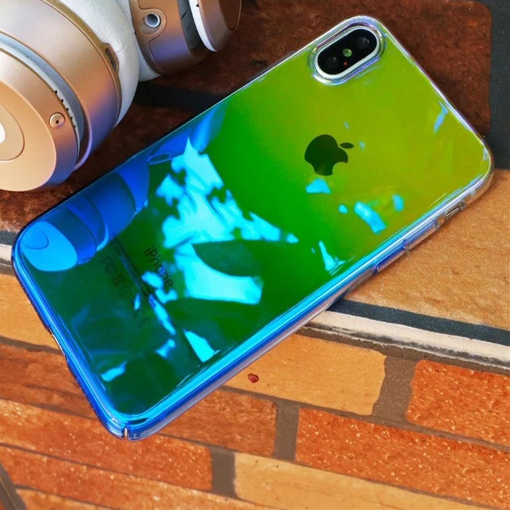 Premium Aura Mystique Dual Color Changing Case for Apple iPhone X (Ten) / XS 2018