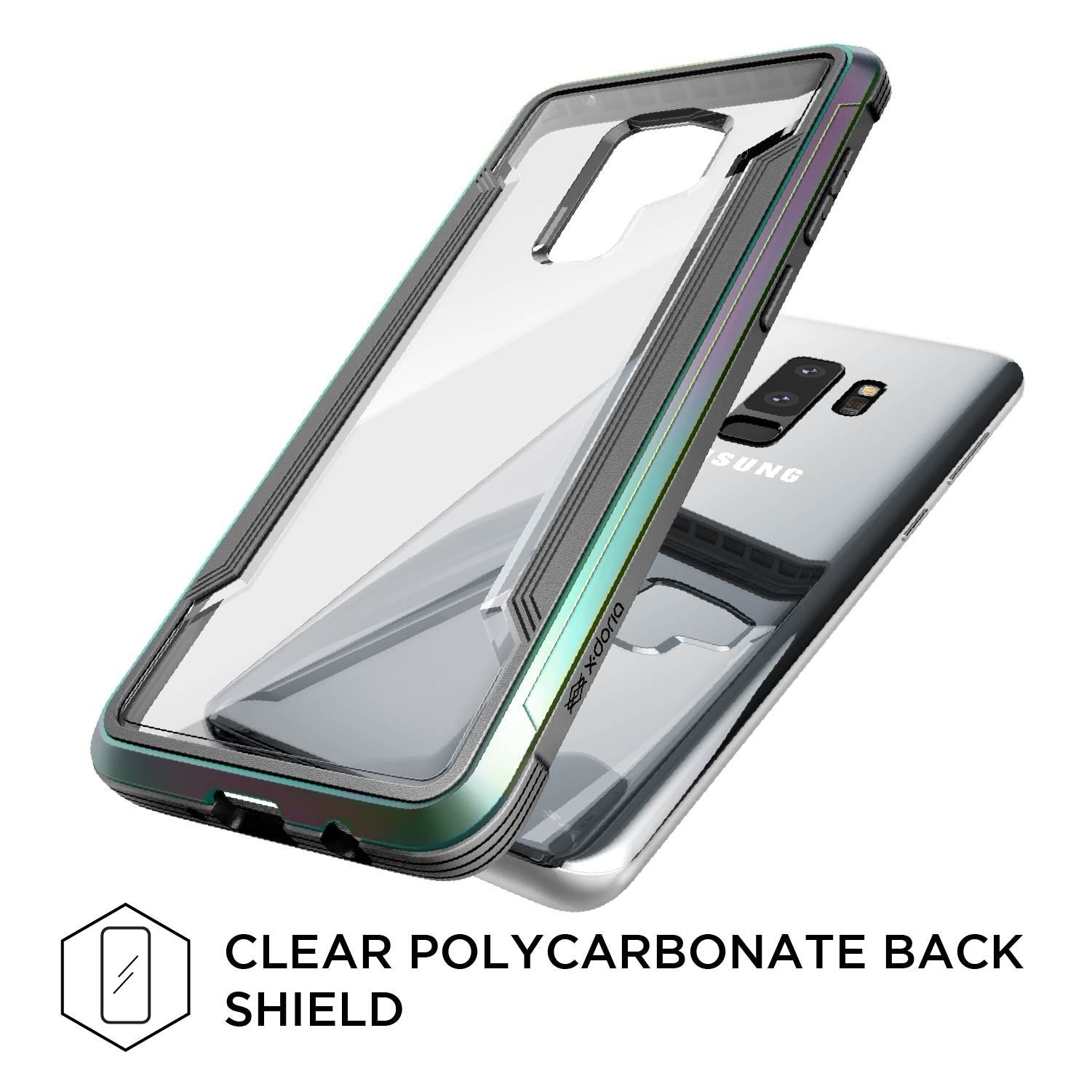 Luxury X-Doria Defense Shield Back Case Cover for Samsung Galaxy S9 Plus