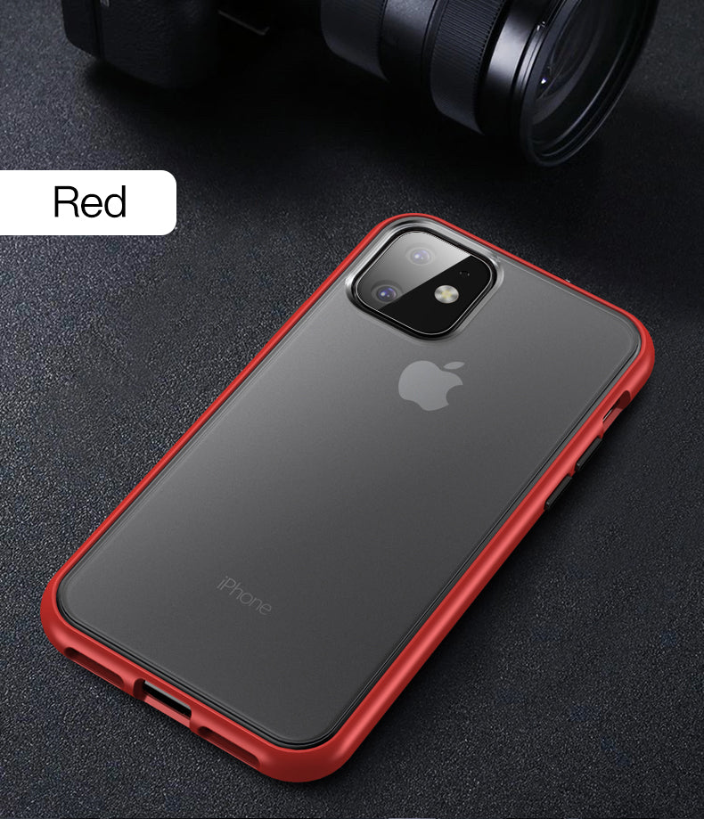 Henks® Premium Polychromatic Case with Contrast Buttons for iPhone 11 Pro Max