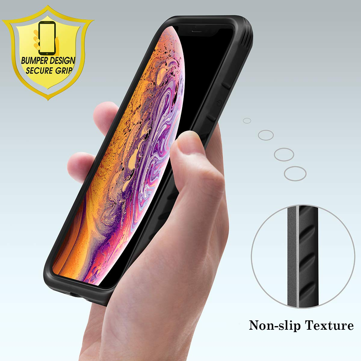 Military Defense Shield Series Anodized Aluminum Drop Protection Case for iPhone 11 Pro