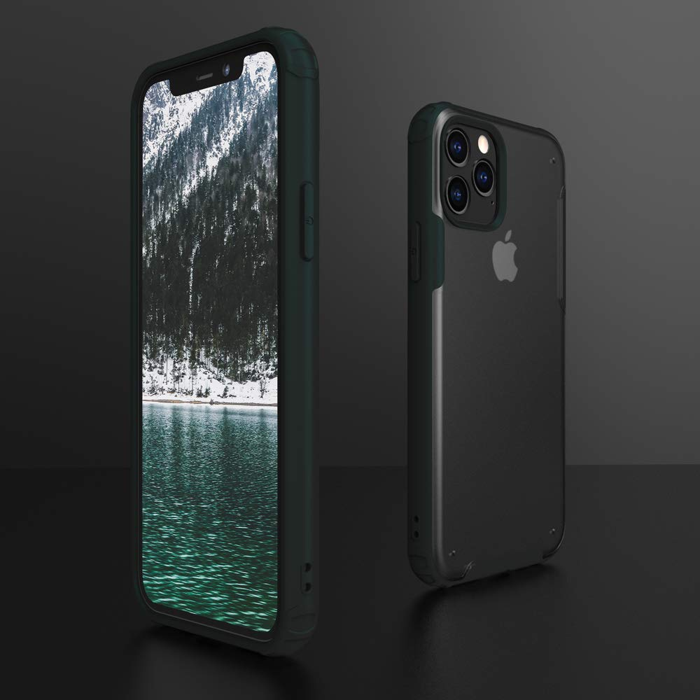 Henks® Luxury Frosted Cloudy Series Matte Case for iPhone 11 Pro Max