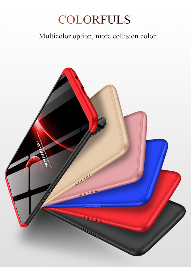 Premium Double Dip Protection Back Case Cover for One Plus 6 / OnePlus 6 / 1+6