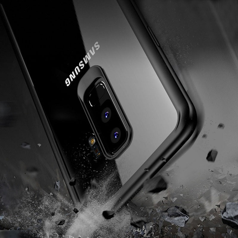 Premium Ultra Slim Clear Transparent Hard Back Case for All Round Protection for Samsung Galaxy S9 Plus