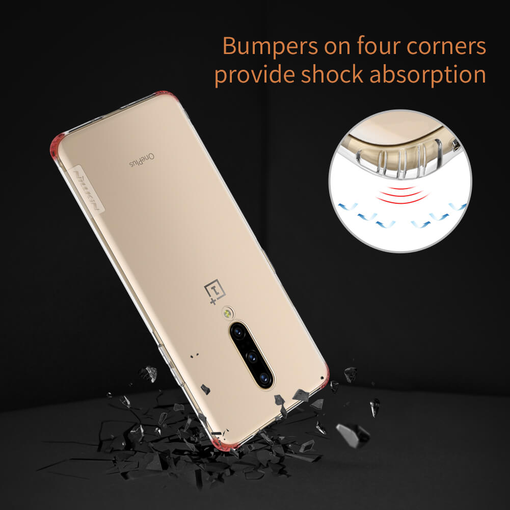 Nillkin Nature Series Shockproof Soft Silicon Clear TPU Case for OnePlus 7 Pro