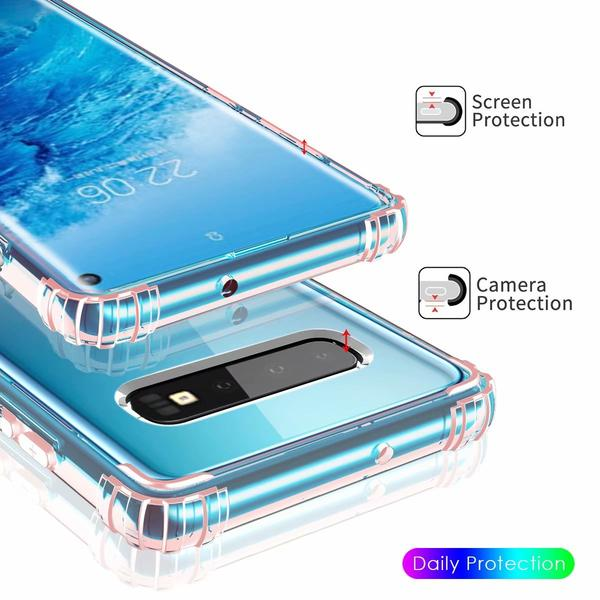 Henks® Air Bag Anti Fall Protective Slim Case for Samsung Galaxy S10