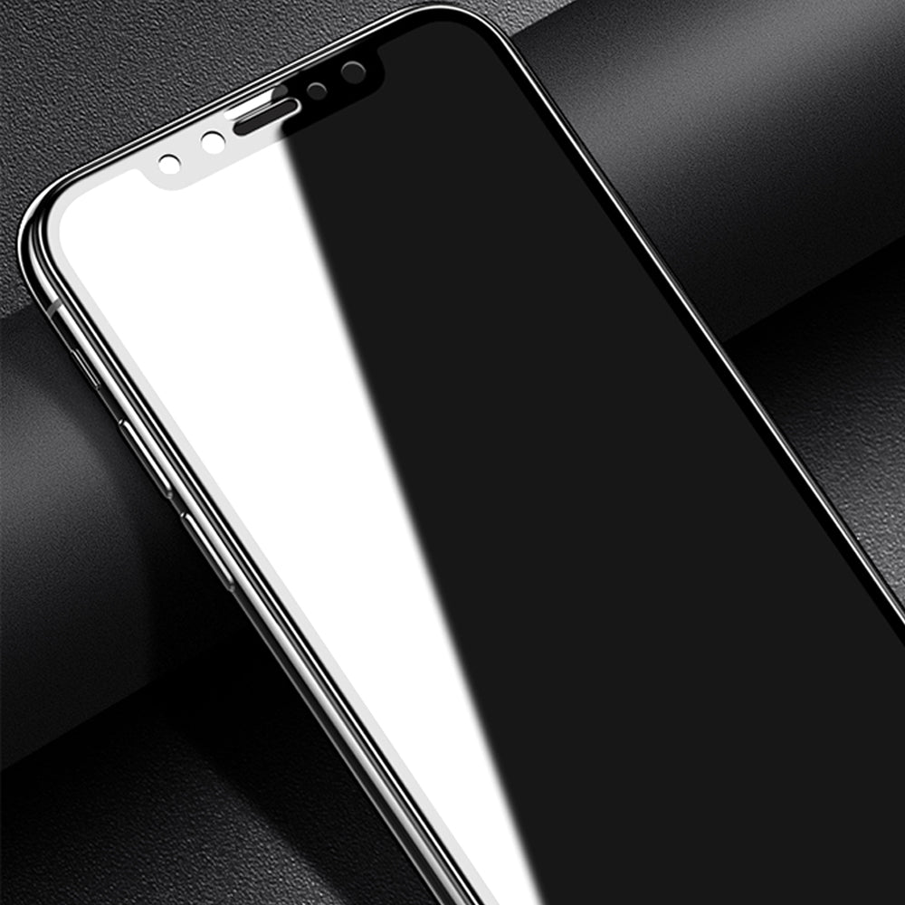 Premium Panama® Titanium Glass 5D Pro Edge Curved Anti Shatter Tempered Glass Screen Protector for Apple iPhone X / XS 2018