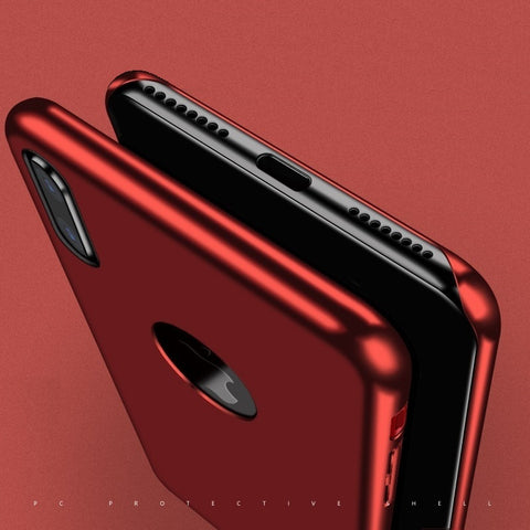 Premium Intermingle Protective Back Case Cover for iPhone X / XS 2018
