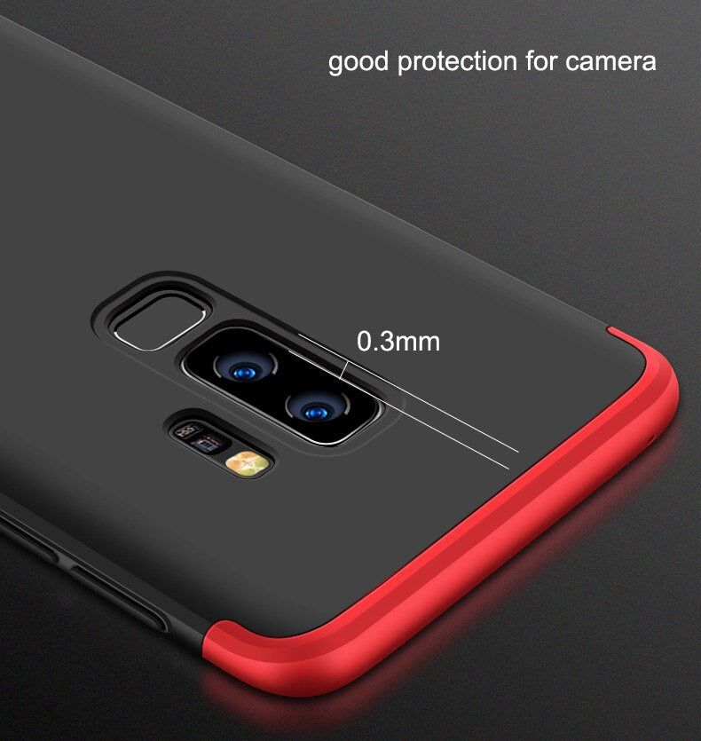 Full Protection [360 Degree] Matte Finish PC Back Case for Samsung Galaxy S9 Plus