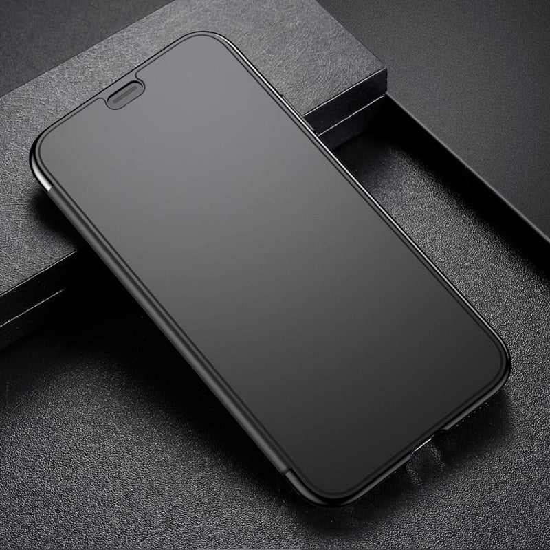 Luxury See through Pick Call from Top with Working Touch Flip Case for iPhone X / XS 2018