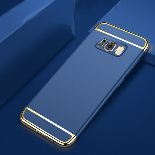 Luxury Electroplating Splicing Ultra Thin Back Case for Samsung S8
