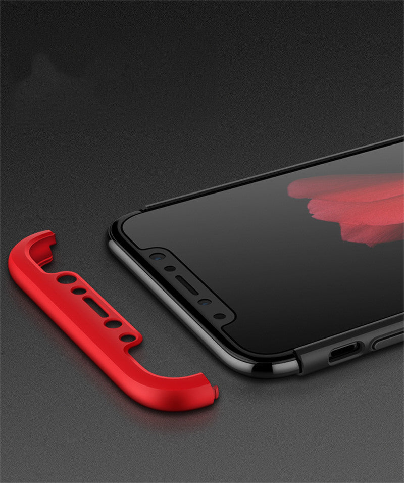 Premium 360 Degree Protection Luxury Grip Case for iPhone X / XS 2018