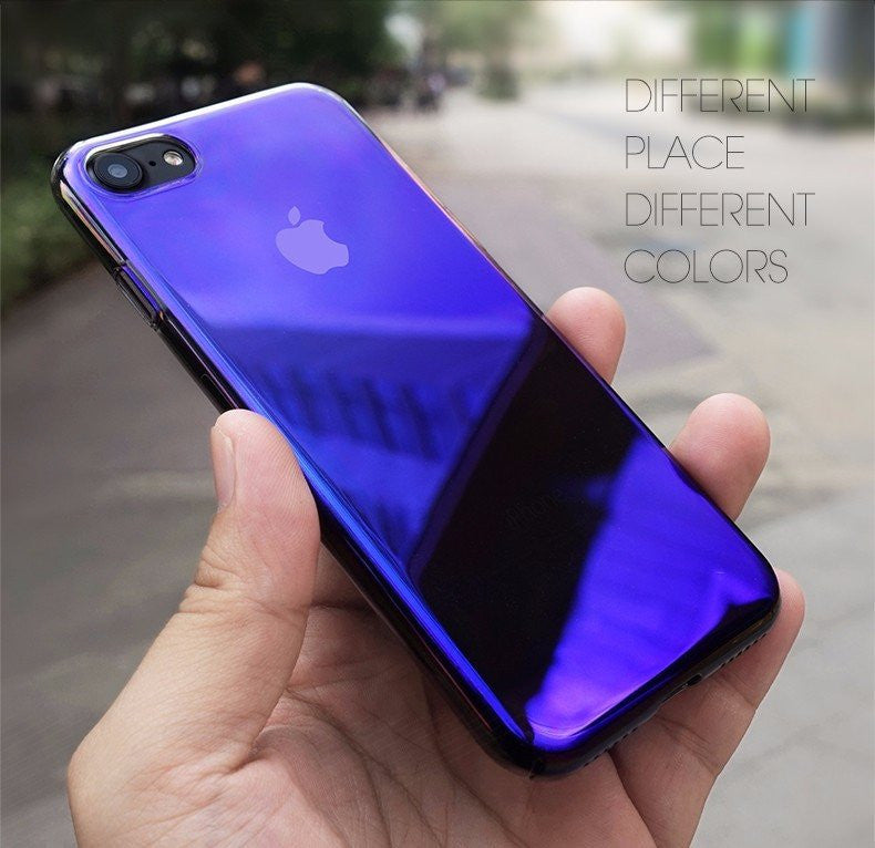 Premium Limited Edition Aura Mystique Dual Color Changing Case for Apple iPhone