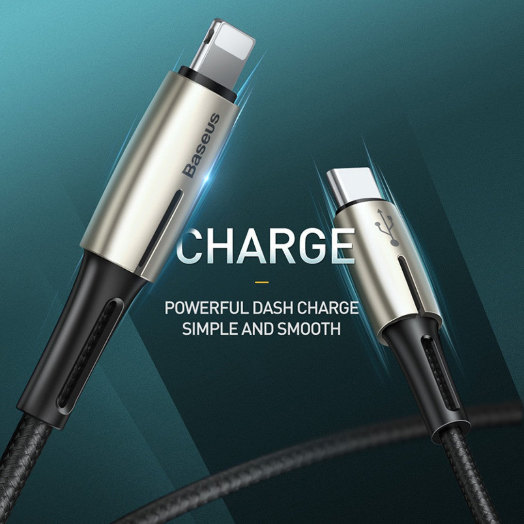 Baseus 18Watt PD Super Quick Charge Data Charging Cable for Apple iPhone 11, 11 Pro, 11 Pro Max