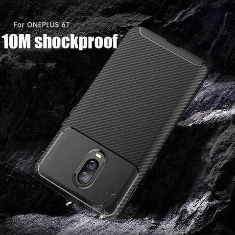 Premium Laser Plating Series Soft TPU Back Case Cover for OnePlus 6T / One Plus 6T / 1+6T