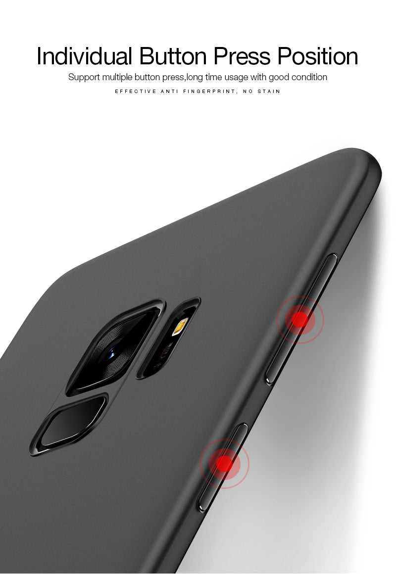 Luxury Ultra Slim 0.25mm [6 gram] Imported PP Material Anti Scratch Case for Samsung Galaxy S9 Plus