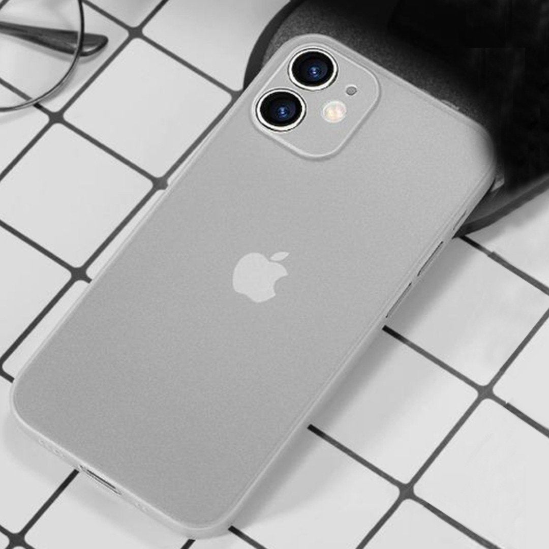 HENKS® iPhone 12 Mini Ultra-Thin Matte Paper Back Case.