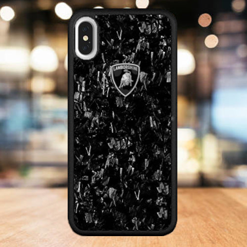 half off 4cd8f 06709 Luxury Automobili Lamborghini Huracan D14 Series Marble Finish Back Case  Cover for Apple iPhone XS Max